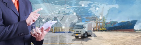 Streamlining air cargo terminal operations through mobility